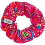 Small scrunchie red folk - PPMC