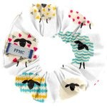Small scrunchie multicolored sheep - PPMC
