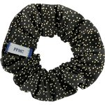Small scrunchie noir pailleté - PPMC