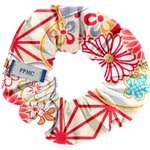 Small scrunchie flowers origamis  - PPMC
