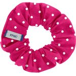 Small scrunchie fuschia spots - PPMC