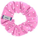Small scrunchie pink spots - PPMC