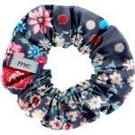 Small scrunchie silvery rose - PPMC