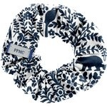 Small scrunchie scandinave navy blue - PPMC