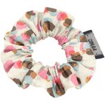 Mini Scrunchie confetti aqua - PPMC