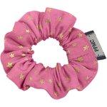 Mini Scrunchie fuchsia gold star - PPMC