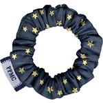 Mini Scrunchie navy gold star - PPMC