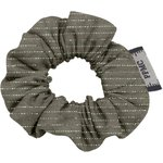 Mini Scrunchie khaki lurex gauze - PPMC