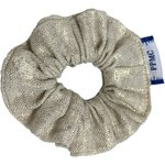 Mini Scrunchie  glitter linen - PPMC