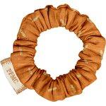 Mini Scrunchie caramel golden straw - PPMC