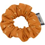 Mini Scrunchie caramel golden straw - PPMC