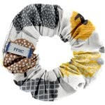 Small scrunchie yellow sheep - PPMC