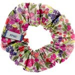 Small scrunchie purple meadow - PPMC
