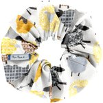 Scrunchie yellow sheep - PPMC