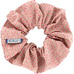 Scrunchie mini pink flower - PPMC