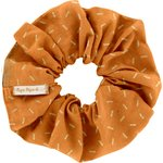 Scrunchie caramel golden straw - PPMC
