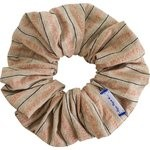 Scrunchie bronze copper stripe  - PPMC