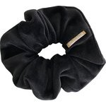 Scrunchie black velvet - PPMC