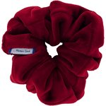 Scrunchie red velvet - PPMC