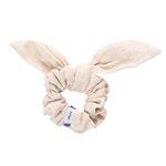 Bunny ear Scrunchie  glitter linen - PPMC