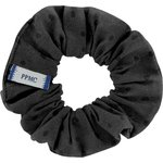 Small scrunchie broderie anglaise noire - PPMC