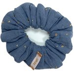 Small scrunchie gaze gris or - PPMC