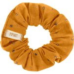 Small scrunchie gauze yellow  gold - PPMC