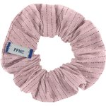 Small scrunchie gaze lurex rose - PPMC