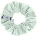 Small scrunchie gaze vert d'eau - PPMC