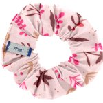 Small scrunchie herbier rose - PPMC