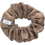Small scrunchie copper linen - PPMC