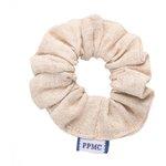 Small scrunchie  glitter linen - PPMC