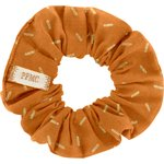 Small scrunchie caramel golden straw - PPMC