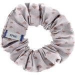 Small scrunchie triangle cuivré gris - PPMC