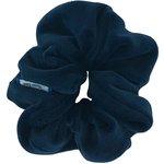 Small scrunchie navy velvet - PPMC