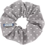 Scrunchie light grey spots - PPMC