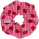 Scrunchie ladybird gingham - PPMC