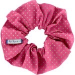 Scrunchie fuchsia gold star - PPMC