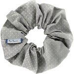 Scrunchie etoile or gris - PPMC