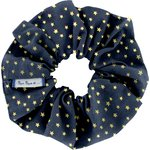 Scrunchie navy gold star - PPMC