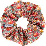 Scrunchie peach flower - PPMC