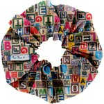 Scrunchie multi letters - PPMC