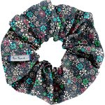 Scrunchie green azure flower - PPMC