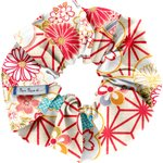 Scrunchie flowers origamis  - PPMC