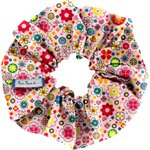Scrunchie pink meadow - PPMC