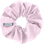 Scrunchie pink gingham - PPMC