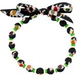Chlidren necklace black elephant - PPMC
