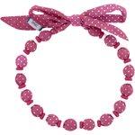 Chlidren necklace etoile or fuchsia - PPMC