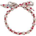 Chlidren necklace red flower - PPMC