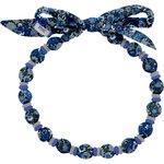 Chlidren necklace blue night flowers - PPMC